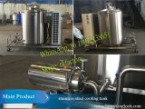1000liters Copeland/Bitzer/Maneuropの圧縮機が付いている縦のミルク冷却タンク