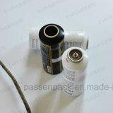 Frasco de alumínio do pulverizador do cuidado do corpo com ombro liso (PPC-AAC-005)