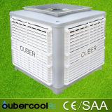 L'air évaporatif Cooelr du flux d'air 23000m3/H Chine de Foshan avec de l'ozone déchargent vers le bas le type refroidisseur