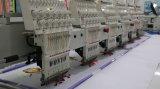 但馬は刺繍機械6ヘッド9カラーDahaoのソフトウェアを混合した