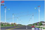 El último diseño de la lámpara solar de la calle