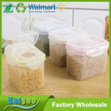 Tipo recipiente da curvatura do cartão de armazenamento plástico do alimento do cereal da selagem com tampa