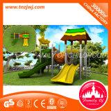 Material y tipo al aire libre conjunto de LLDPE del patio del juego de niños