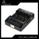 Lader de van uitstekende kwaliteit van 18650 van de Batterij van de Lader Groeven van Xtar Vp4 4