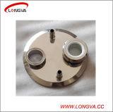 """10 """"抽出器キットのための管付属品が付いている衛生ステンレス鋼三クランプエンドキャップ"""