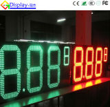 Openlucht Digitale LEIDENE Vertoning van de Prijs van het Gas