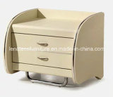T11 French Design MDF Leather Hotel Nightstand