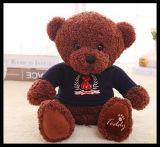 Jouets d'animal bourrés par peluche la plus molle d'ours de nounours de jouet de cadeau de Hotsale