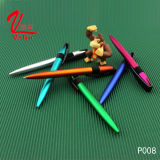 인기 상품에 아주 찍소리 선물 품목 선전용 플라스틱 펜에 의하여 주문을 받아서 만들어지는 로고 볼펜