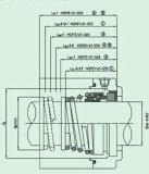 Механически уплотнение с светлой структурой (HG9)