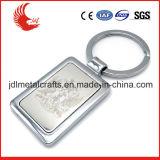 Keyring de encargo en forma de corazón del metal del item promocional al por mayor