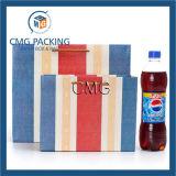 Le cadeau coloré de papier de métier de piste met en sac des sacs à provisions