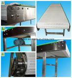 (Har008) Transporte de correia do aço inoxidável de equipamento de transmissão da bebida