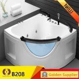 Kb212 Mode de bain Acrylique Massage Whirlpool portable pour baignoire