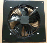 De AsVentilator van het metaal (400mm) met de Externe Motor van de Rotor