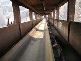 Seitenwand-Gummiförderband für Wannen-Höhenruder in der Mischer-Station