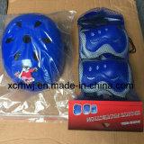 스포츠 헬멧과 패드 프로텍터 세트, 아이들 자전거 방어적인 기어, 아이 팔꿈치 프로텍터, 스키 헬멧, 방어적인 패드 제조자를 위한 스케이트를 타는 무릎 패드