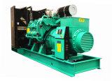 Diesel van de Vermogenssturing 728kw van Googol Stille Generator