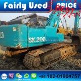 A máquina escavadora hidráulica Japão da esteira rolante de Kobelco Sk200-3 fêz a máquina escavadora Sk200-3