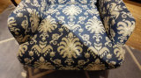 Sofà europeo del tessuto della sede di stile due impostato con la presidenza di svago (LFS-003)
