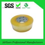 Nastro adesivo giallastro, nastro dell'imballaggio della casella di BOPP, nastro adesivo della radura