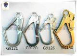 Gancho de leva forjado del broche de presión del cinc del acero de aleación (G9121)