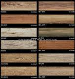 telha de assoalho de madeira 150*600 da grão do Inkjet 3D Rda16019