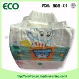 Fabricantes da fralda da etiqueta confidencial do OEM no tecido descartável do bebê de China