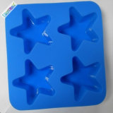 Миниое милое качество еды BPA конструкции освобождает поднос кубика льда силикона