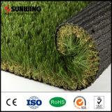 Hierba al aire libre artificial verde del PPE de las nuevas ideas de Sunwing para el jardín