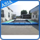 Piscina flotante inflable para el yate, piscinas inflables gigantes, piscina inflable