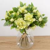 装飾(SF15265A)のための甘いツバキの一突きの人工花