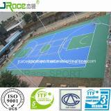 Фабрика Гуанчжоу напольной резиновый баскетбольной площадки настила