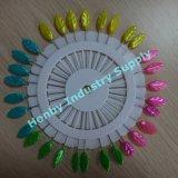 Belle roue principale en plastique de Pin de tête de perle de mode