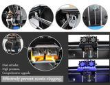Corpo do metal da impressora de Qidi 3D com impressão dupla da extrusora