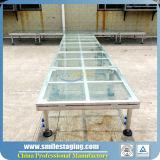 Etapa de cristal del plexiglás de la etapa de las mercancías al por mayor de China