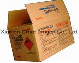 Cartons ondulés mobiles de expédition de cartons d'expédition d'emballage de carton (PC119)