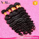 Pacotes baratos do cabelo Curly de Remy do cabelo chinês não processado livre por atacado direto do emaranhado