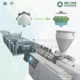Cadena de producción acanalada del azulejo de azotea del PVC