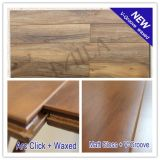 12mm Matt Gloss V-Groove Waxed HDF Hardwood Laminate Flooring