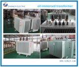 Тип трансформатор 13.8kv погруженный маслом сердечника замотки меди изготовления Китая