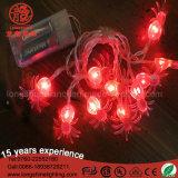 電池式の1m Halloweenの装飾のための10の球根LEDのカボチャストリングライト