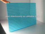 Producción plástica de la tarjeta hueco del perfil de los PP de la PC que saca haciendo la maquinaria