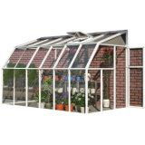 Sunroom de cristal de aluminio caliente del jardín del Sunroom del sitio de Sun del mantiene