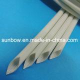 Fibra de vidro aprovada do silicone 4kv do UL que Sleeving para a aplicação dos motores