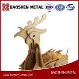 Loong et cadeau de décoration d'art en métal de Phoenix/bureau/sculpture à la maison de constructeur