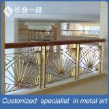 Barandilla modificada para requisitos particulares de la escalera del acero inoxidable de la fabricación de la fábrica para de interior