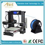 Uitrusting van de Printer van Anet 3D voor juwelen met de Delen van de Printer en Toebehoren voor Ce Vertification van Jonge geitjes