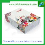 Rectángulo de regalo de empaquetado magnético modificado para requisitos particulares del libro de plegamiento de la impresión