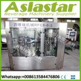 линия упаковки машины завалки минеральной вода бутылки любимчика 2000bph 500ml